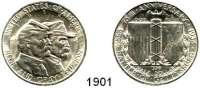 AUSLÄNDISCHE MÜNZEN,U S A  Gedenk Half Dollar 1936.  75. Jahrestag der Schlacht von Gettysburg.  Schön 191.  KM 181.