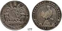 Deutsche Münzen und Medaillen,Henneberg, Grafschaft Gemeinschaftlich, sächsischer Anteil Taler 1694 BA, Ilmenau.  28,73 g.  Ausbeute der Gruben in Ilmenau.  Dav. 7484.