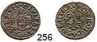 Deutsche Münzen und Medaillen,Riga, Stadt Freie Stadt 1562 - 1581 Schilling 1575.  1,10 g.  Kruggel/Baublyte 1575/6.5.1.