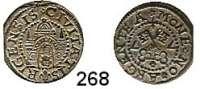 Deutsche Münzen und Medaillen,Riga, Stadt Freie Stadt 1562 - 1581 Schilling 1577.  0,94 g.  Kruggel/Baublyte 1577/8.2.