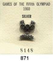 M E D A I L L E N,Olympiade Rom 1960 IOC-Siegernadel