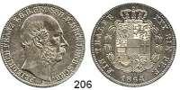 Deutsche Münzen und Medaillen,Mecklenburg - Schwerin Friedrich Franz II. 1842 - 1883 Taler 1864 A.  Kahnt 293.  AKS 38.  Jg. 58.  Thun 215.  Dav. 728.