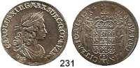 Deutsche Münzen und Medaillen,Pommern Karl XI. von Schweden 1660 - 1697 1/3 Taler 1674.  9,8 g.  AAJ (S.B.) 129.