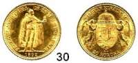 Österreich - Ungarn,Habsburg - Lothringen Franz Josef I. 1848 - 1916 20 Kronen 1892, Kremnitz (6,09 g fein).  Frühwald 2056.  Jl. 409.  KM 486.   Fb. 250.  GOLD