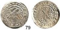 Deutsche Münzen und Medaillen,Brandenburg - Preußen Joachim I. 1499 - 1535 Groschen 1516, Stendal.  2,05 g.  Bahrfeldt 217.