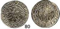Deutsche Münzen und Medaillen,Brandenburg - Preußen Joachim I. 1499 - 1535 Groschen 1518, Frankfurt.  1,93 g.  Bahrfeldt 153d.