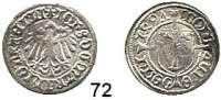 Deutsche Münzen und Medaillen,Brandenburg - Preußen Johann Cicero 1486 - 1499 Halbgroschen 1497, Frankfurt an der Oder.  0,94, g.  Bahrfeldt 65.