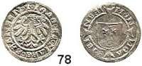 Deutsche Münzen und Medaillen,Brandenburg - Preußen Joachim I. 1499 - 1535 Halbgroschen o.J., Stendal.  1,36 g.  Bahrfeldt 271.