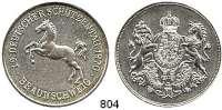 M E D A I L L E N,Schützen Braunschweig Silbermedaille 1970 (800).  19. Deutscher Schützentag.  39 mm.  29,81 g.