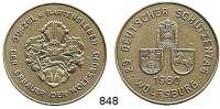 M E D A I L L E N,Schützen Wolfsburg Silbermedaille 1980 (800).  29. Deutscher Schützentag Wolfsburg 1980.  38,5 mm.  24,44 g.
