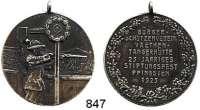 M E D A I L L E N,Schützen Vaethen-Tangerhütte Silbermedaille 1925 (990).  25jähriges Stiftungsfest des Bürger-Schützenvereins.  33,2 mm.  14,14 g.  Mit Öse.