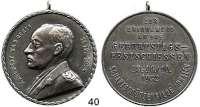 Österreich - Ungarn,Österreich 1. Republik 1918 - 1934 Silbermedaille 1932.  Festschießen zum 60. Geburtstag Adalbert Kammerers der Scharfschützengilde Prater (Wien).  40,5 mm.  27,75 g.  Mit Öriginalöse.