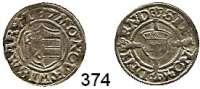 Deutsche Münzen und Medaillen,Wismar, Stadt  Sechsling 1537.  1,24 g.  Kunzel 49 C.
