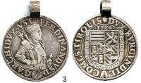 Römisch Deutsches Reich,Haus Habsburg Erzherzog Ferdinand II. 1564 - 1595 Guldentaler 1575, Hall.  25,41 g.  Voglh. 89/VI.  Dav. 55/56.  Mit alter Öse.