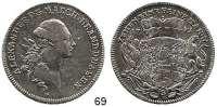 Deutsche Münzen und Medaillen,Brandenburg - Ansbach Christian Friedrich Karl Alexander 1757 - 1791 Konventionstaler 1771.  27,90 g.  Slg. Wilmersdörffer 1088.  Dav. 2001.