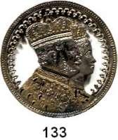 Deutsche Münzen und Medaillen,Preußen, Königreich Wilhelm I. 1861 - 1888 Krönungstaler 1861.  Laubsägearbeit.