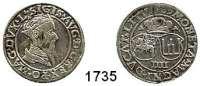 AUSLÄNDISCHE MÜNZEN,Litauen Sigismund August 1548 - 1572 4 Groschen 1567, Vilnius.  4,14 g.  Gum. 624.