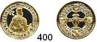 Deutsche Münzen und Medaillen,Nachprägungen von historischen Münzen  Preußen,  Goldnachprägung.  Portugaleser zu 10 Dukaten  (2007).  18 mm.  2 Gramm.