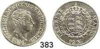 Deutsche Münzen und Medaillen,Württemberg, Königreich Wilhelm I. 1816 - 1864 12 Kreuzer 1824.  AKS 90.  Jg. 45 a.
