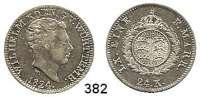 Deutsche Münzen und Medaillen,Württemberg, Königreich Wilhelm I. 1816 - 1864 24 Kreuzer 1824.  AKS 87.  Jg. 47.