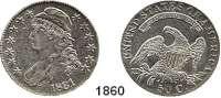 AUSLÄNDISCHE MÜNZEN,U S A  50 Cents 1831.  Kahnt/Schön 35.  KM 37.