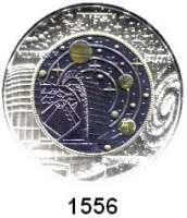 AUSLÄNDISCHE MÜNZEN,E U R O  -  P R Ä G U N G E N Österreich 25 Euro 2015 (Bi-Metall Silber/Niob).  Kosmologie.  KM 3238.  Im Originaletui mit Zertifikat.