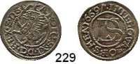 Deutsche Münzen und Medaillen,Pommern Karl XI. von Schweden 1660 - 1697 Doppelschilling 1669.  1,31 g.  AAJ (S.B.) 165.