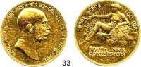 Österreich - Ungarn,Habsburg - Lothringen Franz Josef I. 1848 - 1916 100 Kronen 1908, Wien  (30,49 g FEIN).  Regierungsjubiläum  Frühwald 2182.  Jl. 400.  Herinek 317.  KM 2812.  Fb. 514.  GOLD.