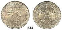 R E I C H S M Ü N Z E N,Weimarer Republik  5 Reichsmark 1929 E.  Jaeger 339.  Meissen.