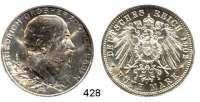 R E I C H S M Ü N Z E N,Baden, Großherzogtum Friedrich I. 1856 - 1907 5 Mark 1902.  Jaeger 31.  Regierungsjubiläum.