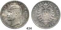 R E I C H S M Ü N Z E N,Bayern, Königreich Otto 1886 - 1913 5 Mark 1888.  Jaeger 44.