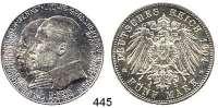 R E I C H S M Ü N Z E N,Hessen, Großherzogtum Ernst Ludwig 1892 - 1918 5 Mark 1904.  Jaeger 75.   400. Geburtstag Philipp des Großmütigen.