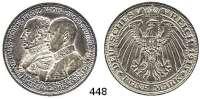 R E I C H S M Ü N Z E N,Mecklenburg - Schwerin Friedrich Franz IV. 1897 - 1918 5 Mark 1915.  Jaeger 89.  Jahrhundertfeier.