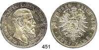 R E I C H S M Ü N Z E N,Preussen, Königreich Friedrich III. 1888 5 Mark 1888.  Jaeger 99.