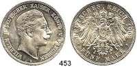 R E I C H S M Ü N Z E N,Preussen, Königreich Wilhelm II. 1888 - 1918 5 Mark 1902.  Jaeger 104.
