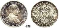 R E I C H S M Ü N Z E N,Preussen, Königreich Wilhelm II. 1888 - 1918 5 Mark 1913.  Jaeger 114.