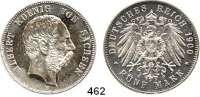 R E I C H S M Ü N Z E N,Sachsen, Königreich Albert 1873 - 1902 5 Mark 1900.  Jaeger 125.