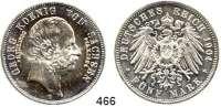 R E I C H S M Ü N Z E N,Sachsen, Königreich Georg 1902 - 1904 5 Mark 1904.  Jaeger 133.  Auf seinenTod.