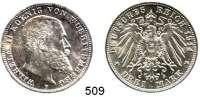 R E I C H S M Ü N Z E N,Württemberg, Königreich Wilhelm II. 1891 - 1918 3 Mark 1914.  Jaeger 175.