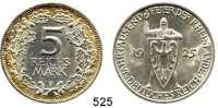 R E I C H S M Ü N Z E N,Weimarer Republik  5 Reichsmark 1925 F.  Jaeger 322.  Rheinlande.