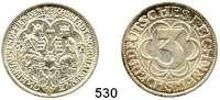 R E I C H S M Ü N Z E N,Weimarer Republik  3 Reichsmark 1927 A.  Jaeger 327.  Nordhausen.