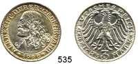 R E I C H S M Ü N Z E N,Weimarer Republik  3 Reichsmark 1928 D.  Jaeger 332.  Dürer.