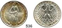 R E I C H S M Ü N Z E N,Weimarer Republik  3 Reichsmark 1928 A.  Jaeger 333.  Naumburg.