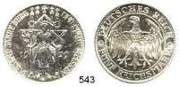 R E I C H S M Ü N Z E N,Weimarer Republik  5 Reichsmark 1929 E.  Jaeger 339.  Meißen.