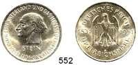 R E I C H S M Ü N Z E N,Weimarer Republik  3 Reichsmark 1931 A.  Jaeger 348.  Stein.