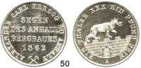 Deutsche Münzen und Medaillen,Anhalt - Bernburg Alexander Karl 1834 - 1863 Ausbeutevereinstaler 1862 A.  Kahnt 6.  AKS 17.  Jg. 73. Thun 6.  Dav. 506.