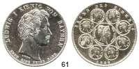 Deutsche Münzen und Medaillen,Bayern Ludwig I. 1825 - 1848 Geschichtstaler 1828. Segen des Himmels.  Kahnt 83.  AKS 121.  Jg. 37.  Thun 56.  Dav. 563.