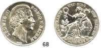Deutsche Münzen und Medaillen,Bayern Ludwig II. 1864 - 1886 Siegestaler 1871.  Kahnt 132.  AKS 188.  Jg. 110.  Thun 107.  Dav. 615.