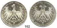 Deutsche Münzen und Medaillen,Frankfurt am Main Freie Stadt 1814 - 1866 Doppelgulden 1848. Deutsches Parlament.  Kahnt 175.  AKS 38.  Jg. 45.  Thun 134.  Dav. 643.