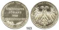 Deutsche Münzen und Medaillen,Frankfurt am Main Freie Stadt 1814 - 1866 Doppelgulden 1848.  Erzherzog Johann von Österreich.  Kahnt 176.  AKS 39.  Jg. 46.  Thun 135.  Dav. 644.